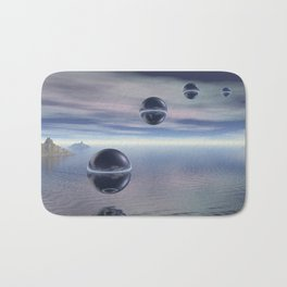 Visitors From Space Bath Mat