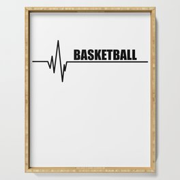 Basketball Serving Tray