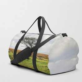 Windswept Tree Duffle Bag