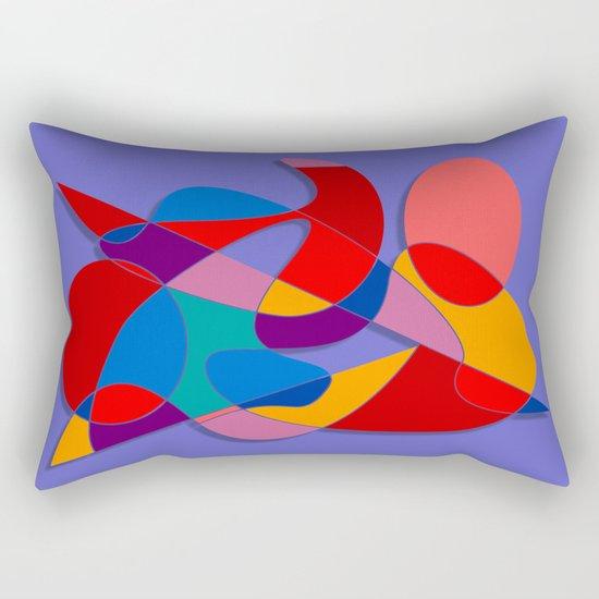 Abstract #66 Rectangular Pillow