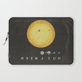Planetary Arrangement Laptop Sleeve