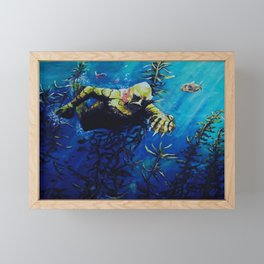 The creature from the black lagoon  Framed Mini Art Print