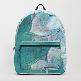 Turq Mandala Backpack