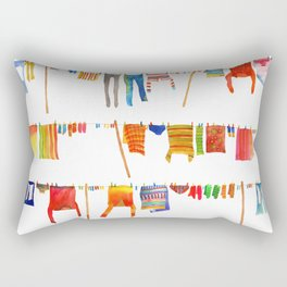 Laundry Rectangular Pillow
