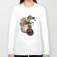industrial Long Sleeve T-shirts featuring industrial existence by Vin Zzep