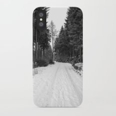 winter landscape Slim Case iPhone X