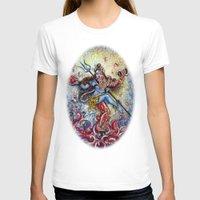 shiva T-shirts featuring Shiva Shakti by Harsh Malik