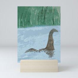 Nessie Through The Mist Mini Art Print
