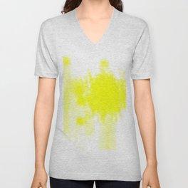 I feel yellow Unisex V-Neck