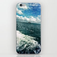 travel more, play more iPhone & iPod Skin