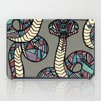 anaconda iPad Cases featuring Anaconda by schillustration