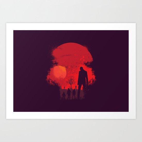 Dead End Art Print