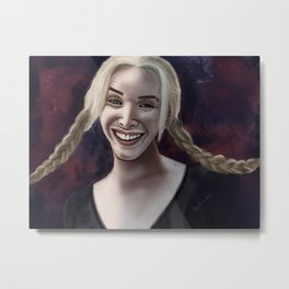 Smelly Cat Metal Print