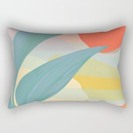 Shapes and Layers no.33 Rectangular Pillow
