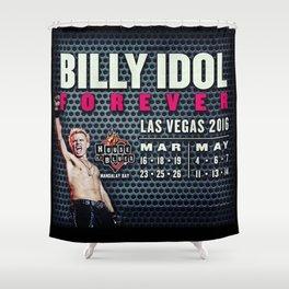 Billy Idol Shower Curtain