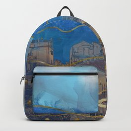 Cities under the Water - Surreal Climate Change Backpack