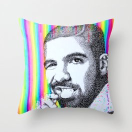 DRAKE Throw Pillow