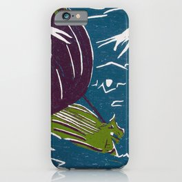 Voyage to the Edge of the World iPhone Case
