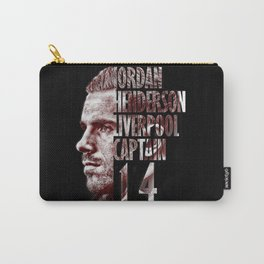 Liverpool FC: Jordan Henderson design Carry-All Pouch