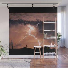 Mister Lightning Wall Mural