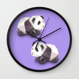 Panda. Wall Clock