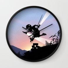 Flash Kid Wall Clock