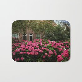 Hydrangea Garden In Woudrichem The Netherlands Bath Mat