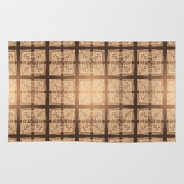 abstract feather pattern II Rug