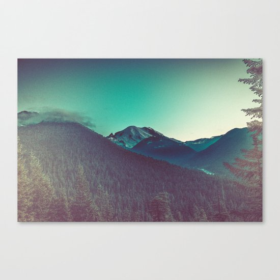Mt. Olympus in Olympic National Park Canvas Print