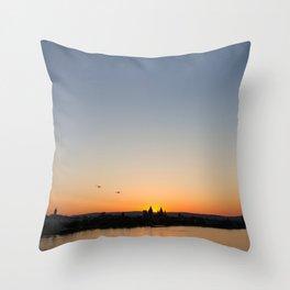 Rheinufer Throw Pillow