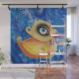 duck amused Wall Mural