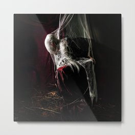 The Woman Who Waited Metal Print