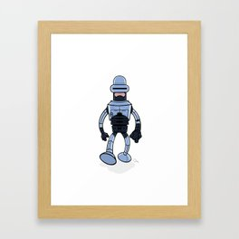 BenderCop Framed Art Print