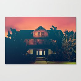 I'm Home in Los Angeles Says the Ghosts Canvas Print