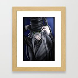 Undertaker Hat Tip Framed Art Print