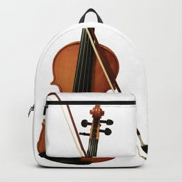 my wand chose me violin tee orchestra violinist gift Backpack