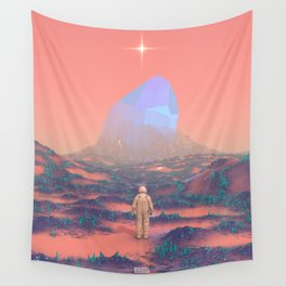Lost Astronaut Series #02 - Giant Crystal Wall Tapestry