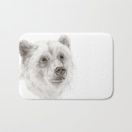 Grizzly :: A North American Brown Bear Bath Mat