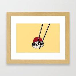 Sushi-San Framed Art Print