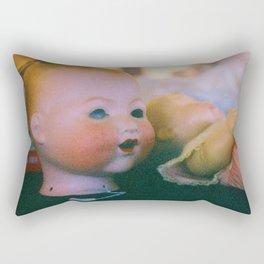 baby doll head Rectangular Pillow