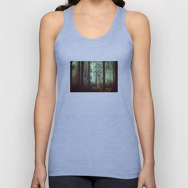 Shadows in the morning mist  Unisex Tank Top