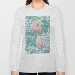 Ninfee. Waterlilies. Nynphéas Long Sleeve T-shirt