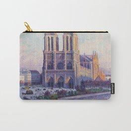 Maximilien Luce - Notre - Dame De Paris  Vue Du Quai Saint - Michel Carry-All Pouch