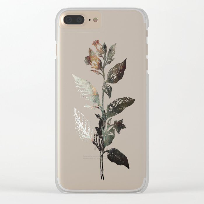 Saint Atropa Clear iPhone Case