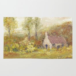 Impressionism Country Home Rug