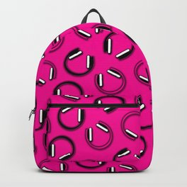 Headphones-Pink Backpack