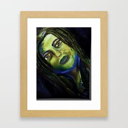 Nightmare Portriat Framed Art Print