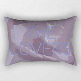 The Lovers Rectangular Pillow