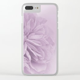 Light Lilac Rose #6 #floral #art #society6 Clear iPhone Case