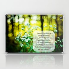 The Hunger Games Rue's Lullaby  Laptop & iPad Skin